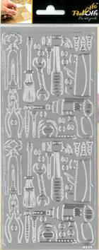 Ääriviivatarra työkalut - Tarrat ja tarrakirjat - 148670 - 1