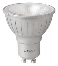 Airam led 6w gu10 dim to warm, 500cd/410lm, 2800-1800k, - Varalamput ja loisteputket - 139460 - 1