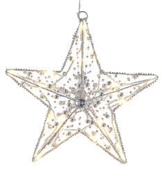 Valotähti 30cm Moment AIRAM 20led - Jouluun valot,koristeet,tekstiilit - 144320 - 1