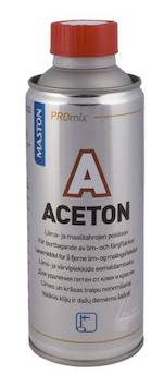 Asetoni 450ml - Maalaustarvikkeet - 136400 - 1