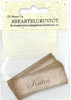 Askartelukuvio kiitos nostalgia - Askartelutarvikkeet - 136060 - 1
