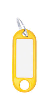 Avaimenperä WEDO muovia nimikotelo - Avainkaapit, avaimenperät - 128450 - 1