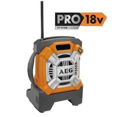 Työmaaradio Br 18c AEG - Brändi sähkötyökalut - 139750 - 1