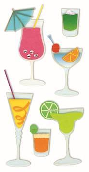 Cocktails-tarra-arkki - Askartelutarvikkeet - 137650 - 1