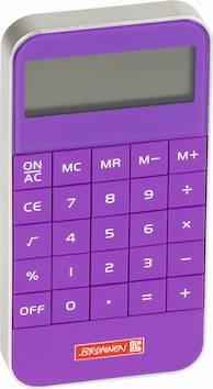 Taskulaskin Colourcode - Koululaistarvikkeet - 137120 - 1