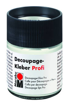 Decoupage-liima Marabu PRO 50ml - Askartelutarvikkeet - 150440 - 1