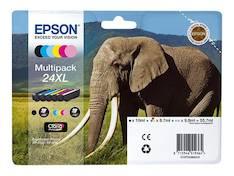 EPSON T2438 mustesuihku 24XL - Epson mustesuihkuväripatruunat - 143250 - 1