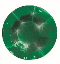 Gemstones tarra-arkki, 58 osaa, t.vihreä - Askartelutarvikkeet - 137330 - 1