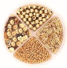 Helmilajitelma 30g 90x10mm kulta - Askartelutarvikkeet - 137720 - 1