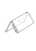 Hintalappupidike 50x30mm - Esitetelineet ja tarvikkeet - 130720 - 1