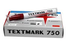 Huopakynä 2-5mm TEXTMARK 750 viisto - Huopakynät - 120630 - 1
