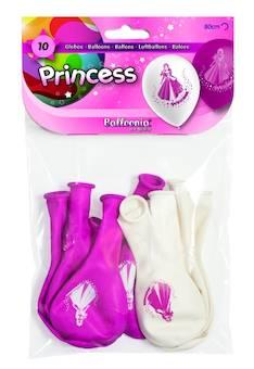 Ilmapallo 10 kpl prinsessa - Vapputuotteet - 132670 - 1