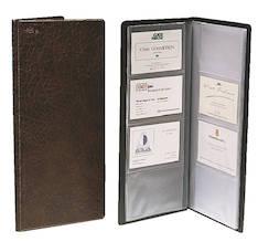 Käyntikorttikansio 128-kortille ESSELTE - Käyntikorttien säilytys - 122640 - 1