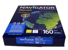 Kopiopaperi NAVIGATOR A4/160g - Kopiopaperit - 127580 - 1