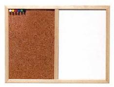 Korkki-/valkotaulu NORDIC 60x100 cm - Valko- ja ilmoitustaulut - 115850 - 1