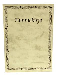 Kunniakirja A4 - Lomakkeet - 110840 - 1
