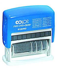 Leimasin COLOP S120/WD päiväys + - Leimasimet - 103580 - 1