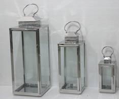 Lyhty 16,5x16x43,5cm - Kynttilät, lyhdyt ja tarvikkeet - 149330 - 1