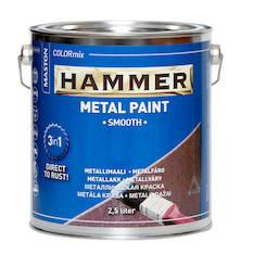 Maali hammer sileä 2.5l - Maalaustarvikkeet - 136390 - 1