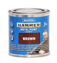 Maali hammer sileä 250ml - Maalaustarvikkeet - 136380 - 1