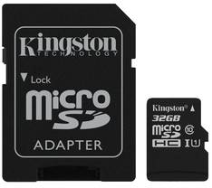 Muistikortti KINGSTON MicroSDHC 32GB - USB muistitikut ja kortit - 151560 - 1