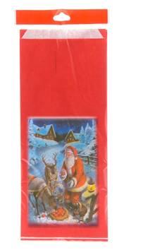 Paperipussi 1kg Jouluaihe - Joulutuotteet - 125750 - 1