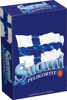 Pelikortti Suomi - Pelit Nelostuote - 123100 - 1