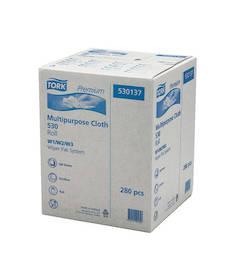 Puhdistusliina TORK Premium W1 530 - Kuitukangasliinat ja telineet - 118910 - 1