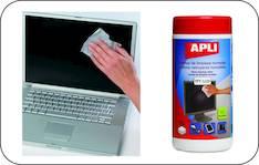 Puhdistuspyyhe APLI antistaattinen - ATK:n puhdistusaineet ja liinat - 118280 - 1