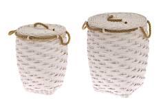 Pyykkikori Rope 40x40x52cm - Muu säilyttäminen - 146480 - 1