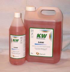 Saniteetti puhdistusaine 5L KW SANI - Pesu- ja puhdistusaineet - 133940 - 1