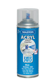 Spraymaali acrylcomp ral5015 400ml - Maalaustarvikkeet - 136220 - 1