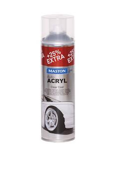 Spraymaali autoacryl 500ml - Maalaustarvikkeet - 136370 - 1