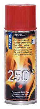 Spraymaali kuumakesto 250c 400ml - Maalaustarvikkeet - 136310 - 1