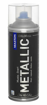 Spraymaali metallic 400ml - Maalaustarvikkeet - 136300 - 1