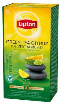 Tee LIPTON Vihreä Sitrus 26g - Kahvit,teet ja kaakaot - 143650 - 1