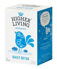Tee Higher Living Daily Detox Tea - Kahvit,teet ja kaakaot - 153680 - 1