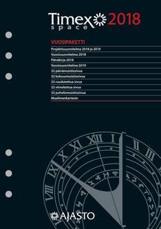 Timex space -kalenterivuosipaketti 2018 - Ajasto kalenterit - 152680 - 1