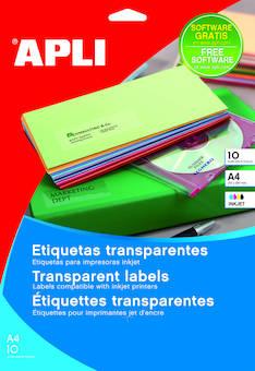 Tulostustarra 210x297 APLI 1-jak - Tulostus- ja kopiotarrat - 131680 - 1