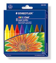 Vahaliitu 8/srj STAEDTLER Super Jumbo - Väriliidut - 126940 - 1