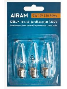 Varalamppu 3W14V Pikyp E10 AIRAM - Jouluun valot,koristeet,tekstiilit - 149810 - 1