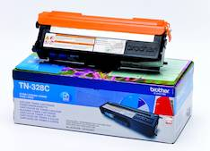 Värikasetti BROTHER TN-328C laser - Brother laservärikasetit ja rummut - 124840 - 1
