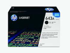 Värikasetti HP 643A Q5950A laser - HP laservärikasetit ja rummut - 113140 - 1