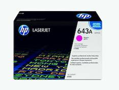 Värikasetti HP 643A Q5953A laser - HP laservärikasetit ja rummut - 112940 - 1