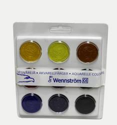 Vesiväri WENNSTRÖM - Vesi- ja peitevärit sekä siveltimet - 102720 - 1