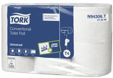 WC-paperi TORK Universal T4 - Pikkurullat ja annostelijat - 152710 - 1
