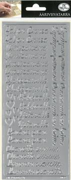 Ääriviivatarra Toivotukset - Tarrat ja tarrakirjat - 153500 - 1