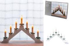 Kynttelikkö 7-os. Finnlumor - Jouluun valot,koristeet,tekstiilit - 149221 - 1