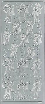 Ääriviivatarra enkeli ja tähti - Tarrat ja tarrakirjat - 148961 - 1