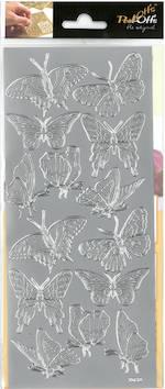 Ääriviivatarra isot perhoset - Tarrat ja tarrakirjat - 136021 - 1
